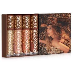 🐆NEW! Kylie Cosmetics 4 Piece High Gloss Set